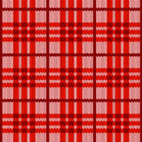 Red realistic textile pattern Royalty Free Stock Photos