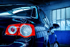 Red rear executive lights Royalty Free Stock Photo