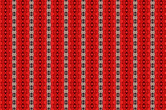Red reason. Pattern with an interesting configuration in red and black geometries Royalty Free Stock Image