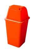 Red recycle bin Royalty Free Stock Images