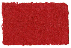 Red recycled paper Royalty Free Stock Photos