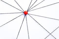 Red, red, conexión, comunicación Foto de archivo libre de regalías