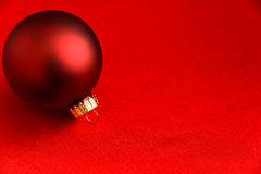 Red on red holiday elegance Stock Photos