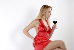 Red red wine Royalty Free Stock Photos