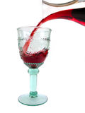 Red, red wine :-) (full view) Royalty Free Stock Photo