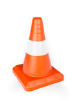 Red Reflective Traffic Cone Stock Photos