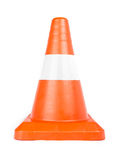 Red Reflective Traffic Cone Stock Images