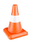 Red Reflective Traffic Cone Royalty Free Stock Photography