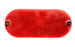 Red Reflector Isolated Royalty Free Stock Photo