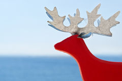 Red reindeer Stock Photo