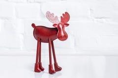 Red reindeer Royalty Free Stock Photos