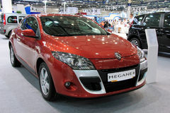 Red Renault Megane 3 Royalty Free Stock Photography