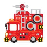 Red Rescue car 1 Royalty Free Stock Photo