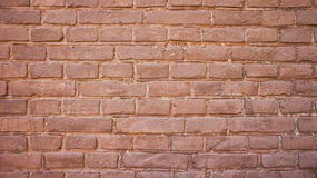 Red retro brick wall Royalty Free Stock Images