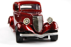 Red retro car royalty free stock photo