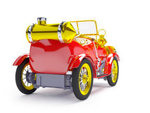 1910 red retro car Royalty Free Stock Images