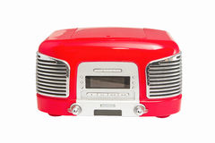 Red retro Radio royalty free stock photos