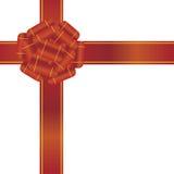 Red ribbon Stock Image