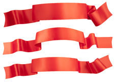 Red ribbon Stock Image