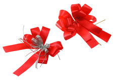Red ribbon. For celebration event Stock Image