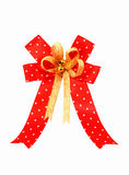 Red ribbon. A Red ribbon on white Royalty Free Stock Images