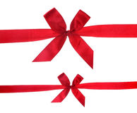 Red ribbon Royalty Free Stock Photography