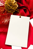 Red ribbon. Rad ribbon,Isolated on white Royalty Free Stock Photography