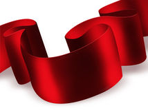 Red ribbon Royalty Free Stock Photos