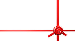 The red ribbon Stock Images