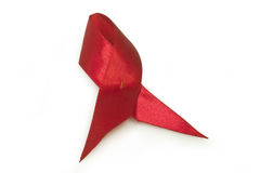 Red Ribbon Aids awareness Royalty Free Stock Images