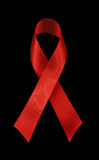 Red Ribbon - AIDS Awareness Royalty Free Stock Image