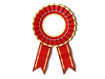 Red Ribbon Award Royalty Free Stock Photos