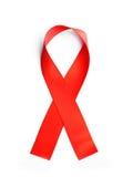 Red ribbon bow Royalty Free Stock Image
