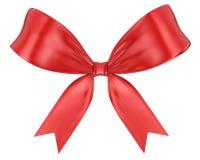 Red ribbon bow Stock Photos