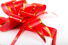 Red Ribbon Bow Royalty Free Stock Image