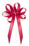 Red ribbon cutout Royalty Free Stock Image