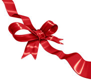 Red Ribbon Decoration Stock Image