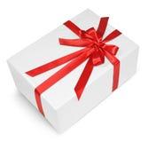 Red ribbon gift Royalty Free Stock Photo