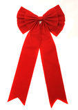Red ribbon isolated on white Stock Image