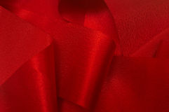 RED RIBBON IV. An image with a red ribbon Royalty Free Stock Photo