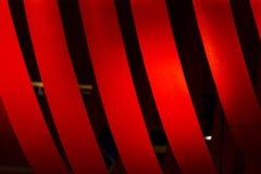 Red ribbon pattern royalty free stock photos