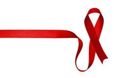 Red ribbon Royalty Free Stock Photo