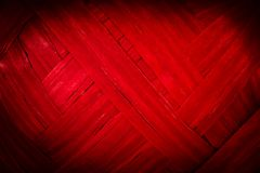 Red ribbon strip texture Stock Image