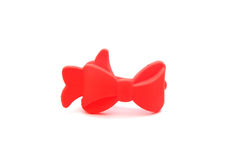 The red ribbon toy Royalty Free Stock Photos