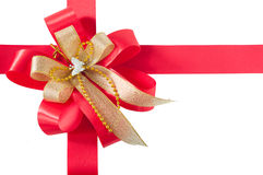 Red ribbon Royalty Free Stock Image
