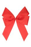 Red Ribbon w/ Clipping Path Royalty Free Stock Photos