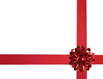 Red ribbons 03 Royalty Free Stock Photography