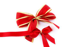 Red ribbons Royalty Free Stock Photos