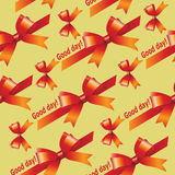 Red ribbons and bows. Stock Photography