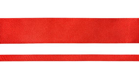 Red ribbons Stock Image